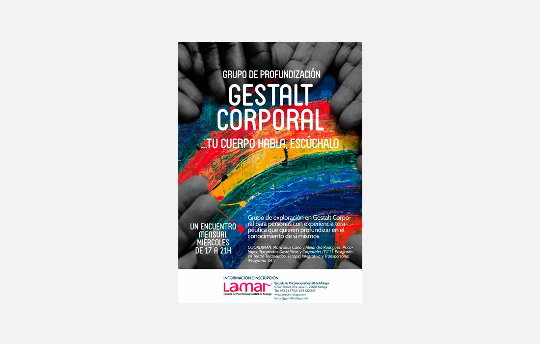 Cartel Gestalt Corporal Avanzado