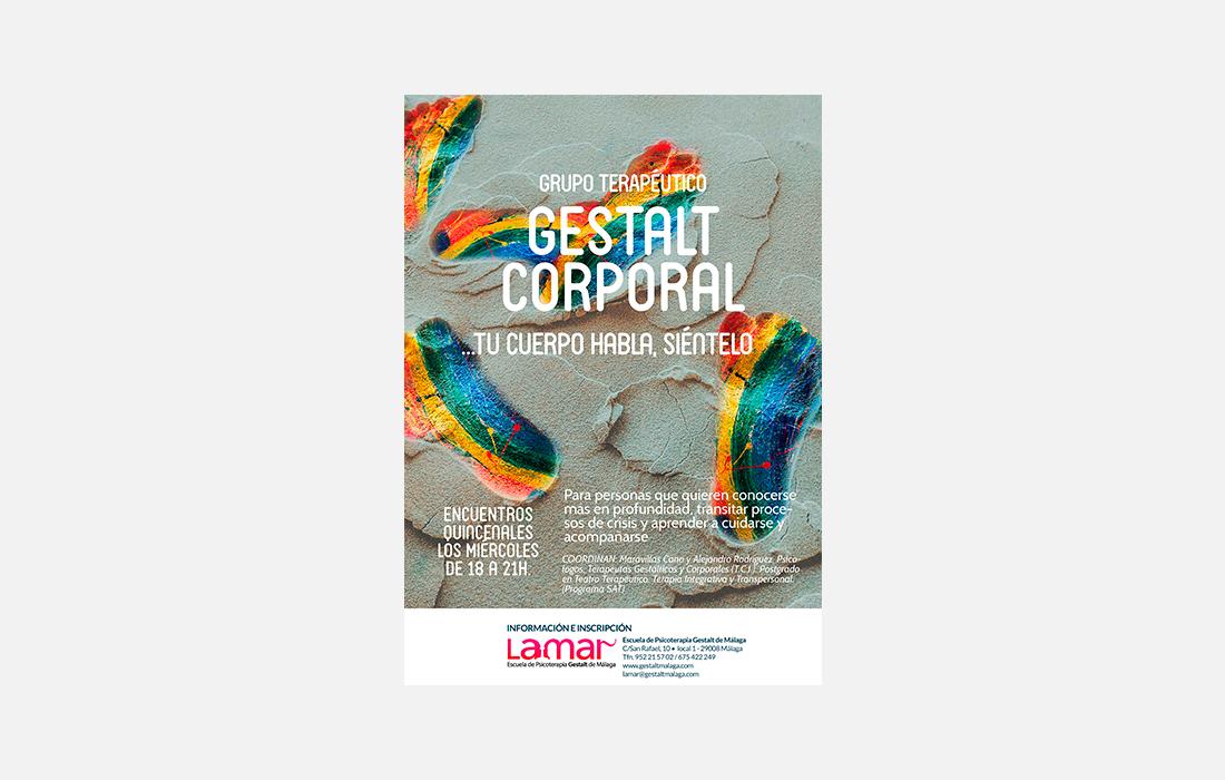 Cartel Gestalt Corporal Terapéutico