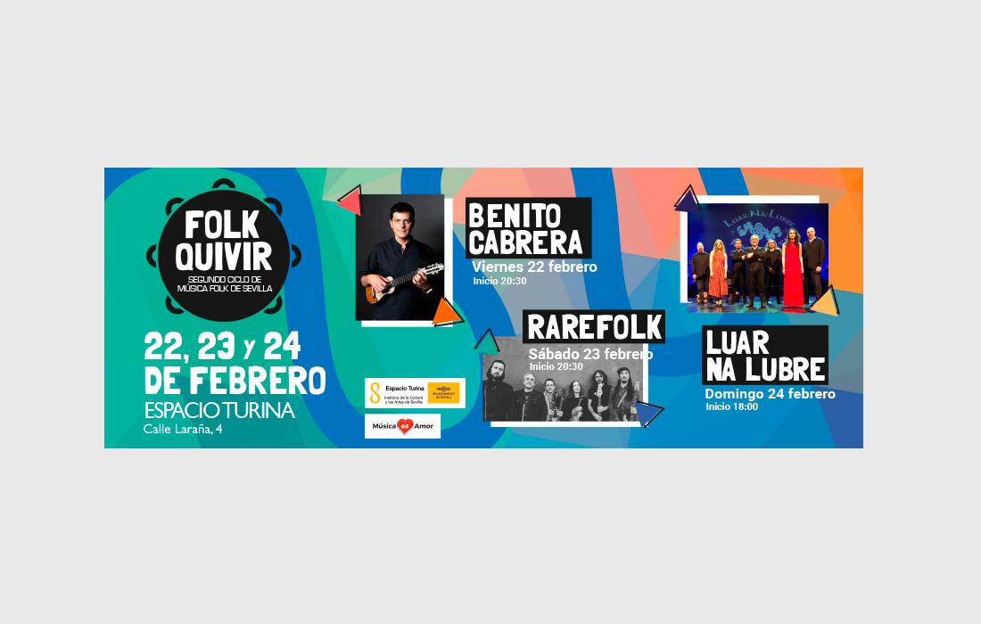 Adaptación para RRSS  Folkquivir 2019. II Ciclo de Música Folk de Sevilla