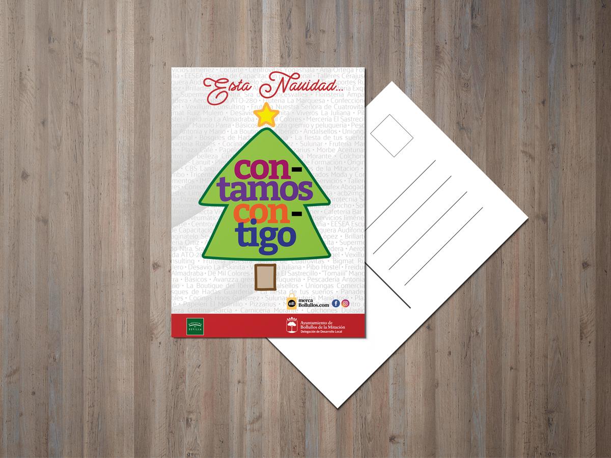 La Lou Campaña Navidad Bollullos de la Mitación Postal